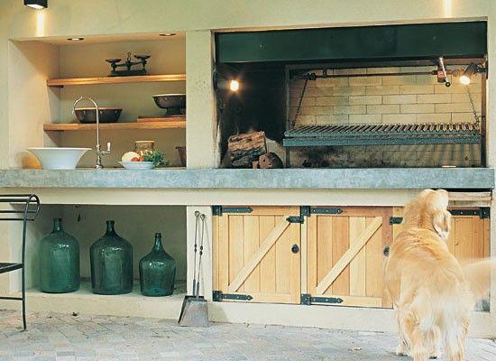 10 modelos de parrilla para tu casa barbacoa patios and garage loft - Parrilla para casa ...
