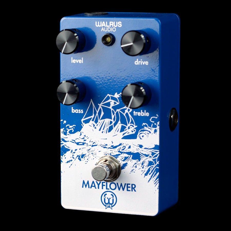 walrus audio mayflower overdrive pedal guitar gear guitar effects pedals guitar pedals. Black Bedroom Furniture Sets. Home Design Ideas