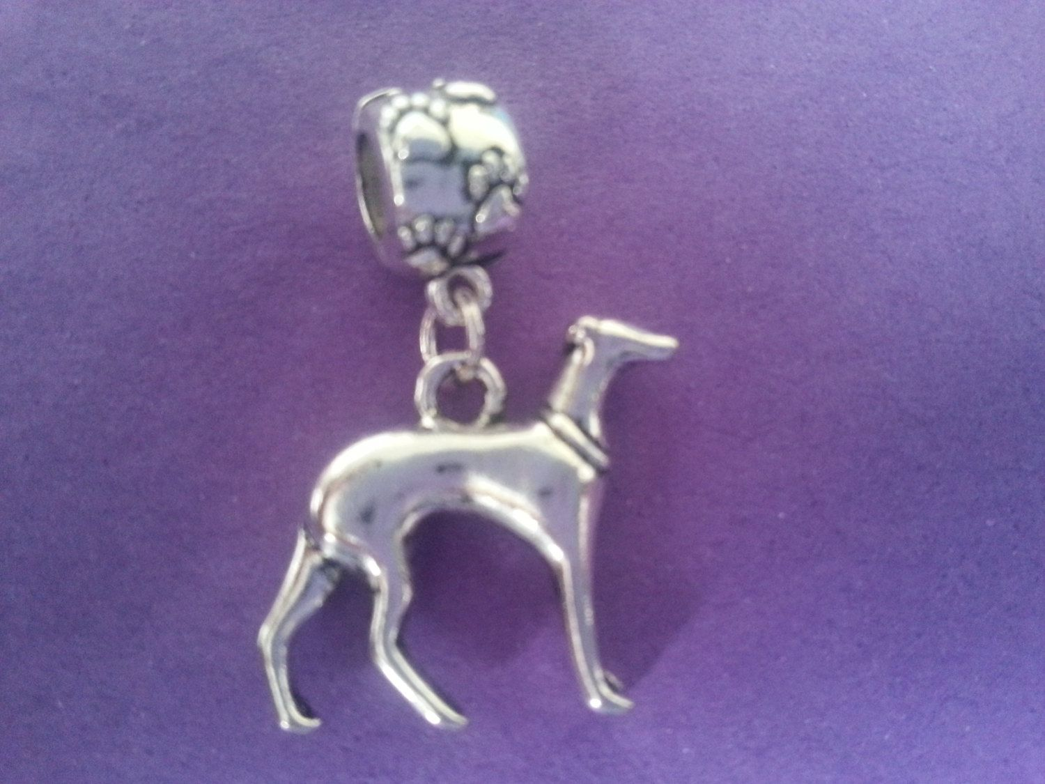 Sterling Silver Italian Greyhound Earrings fr Donna Pizarro/'s Animal Whimsey Collection of Custom Italian Greyhound Jewelry