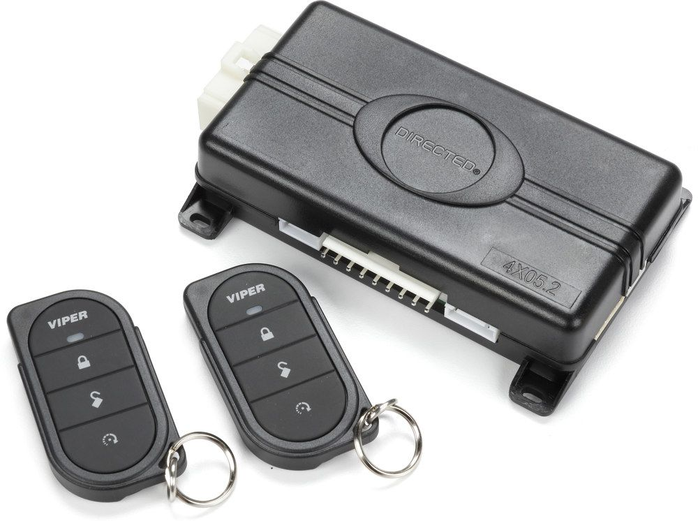 Viper Model 4105v Version 2 Remote Start System With Keyless Entry At Crutchfield Remote Start Remote Car Alarm