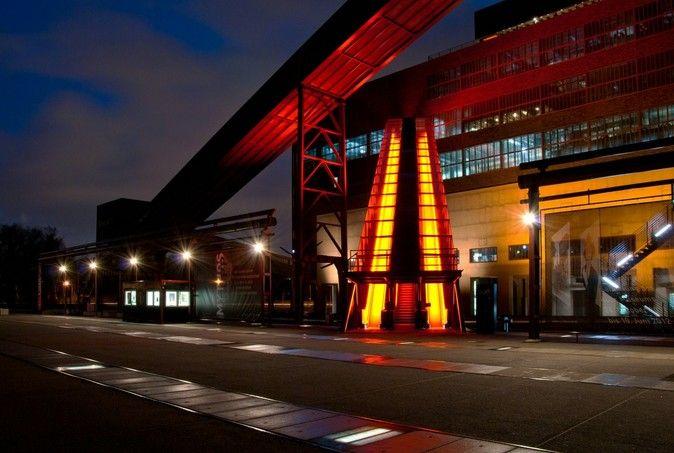 Rolltreppe Zollverein von Merlinxx
