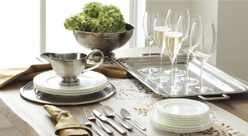 Thanksgiving Dinnerware  Decorations Crate and Barrel Now