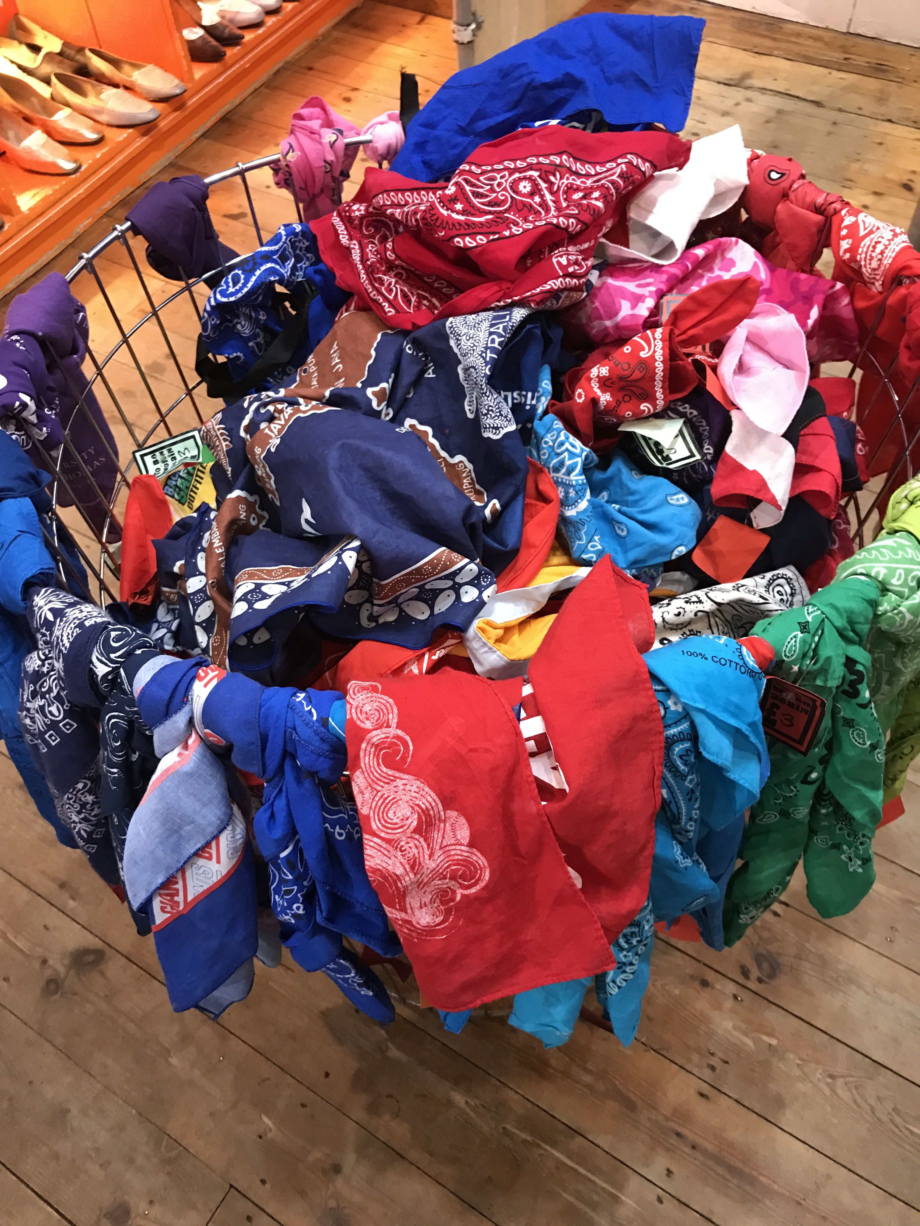 Neckerchief With Lot Of Different Colours