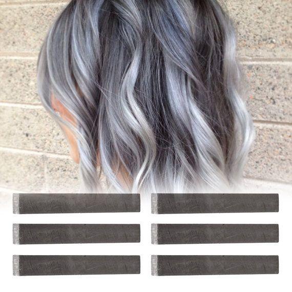 6 Best Temporary Ashy Grey hair Dye for dark and light hair - Set ...