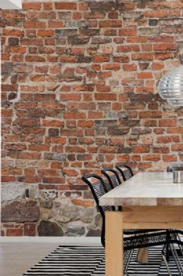 Mr Perswall Communication Old Brick Wallpaper Alte Ziegel