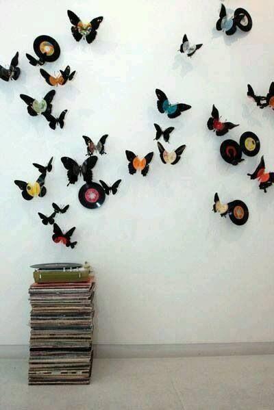 Decorado de mariposas