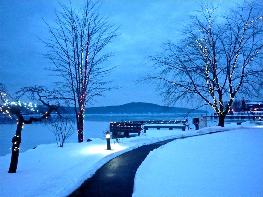 Meredith NH in the winter: http://visitingnewengland.com ...