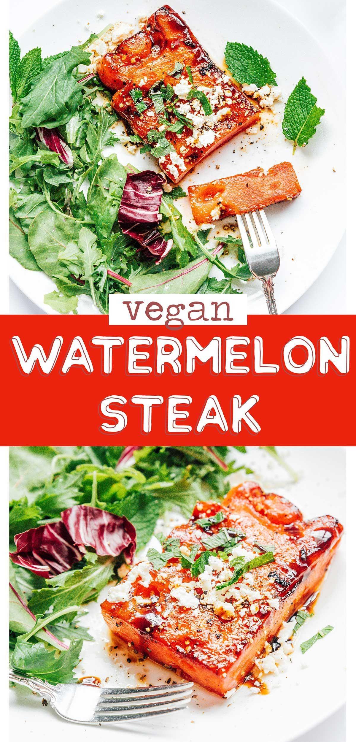 The Best Watermelon Steak Recipe Recipe In 2020 Watermelon Steak Recipe Recipes Vegan Dinner Recipes