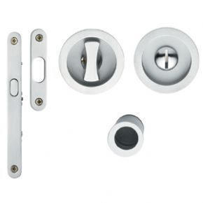 Valli Valli K4200 Door Hardware Privacy Pocket Door Lock Pocket Door Lock Door Hardware Pocket Doors