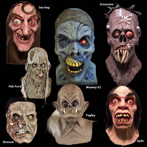 Mascaras de varios monstros m scaras de terror pinterest - Mascara de terror ...