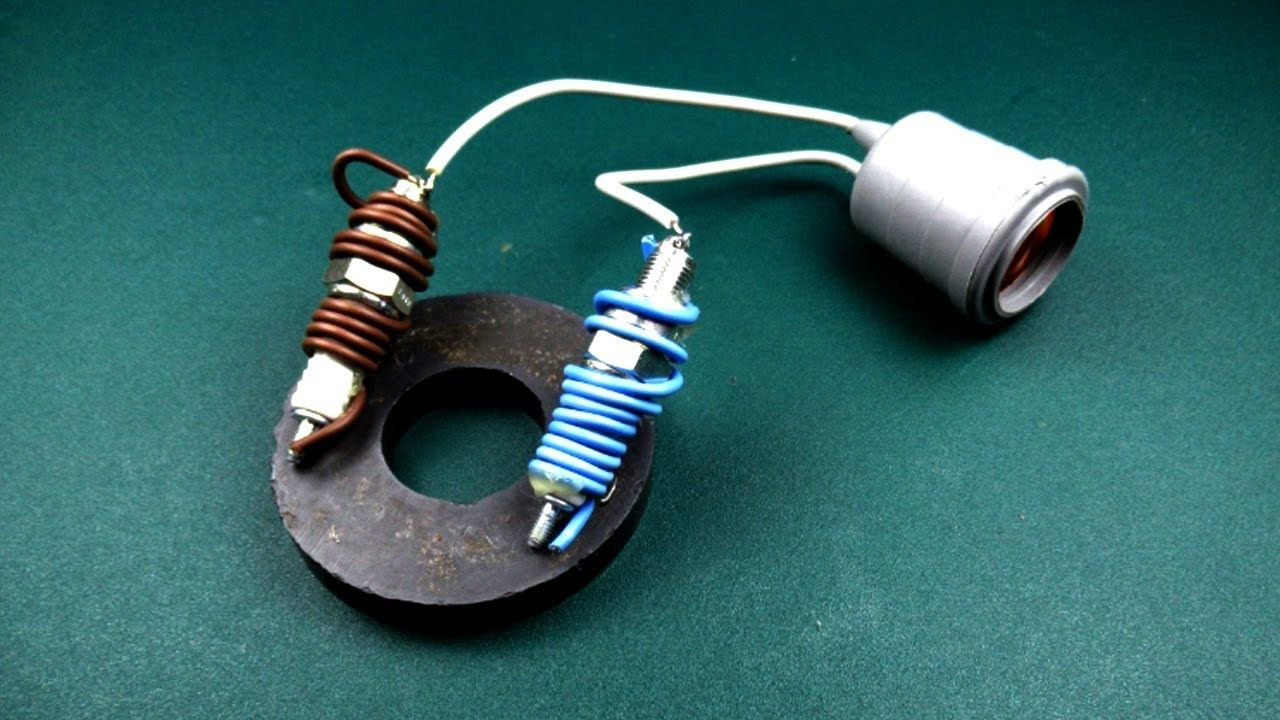 Spark Plug Electric Free Energy device Using Coil