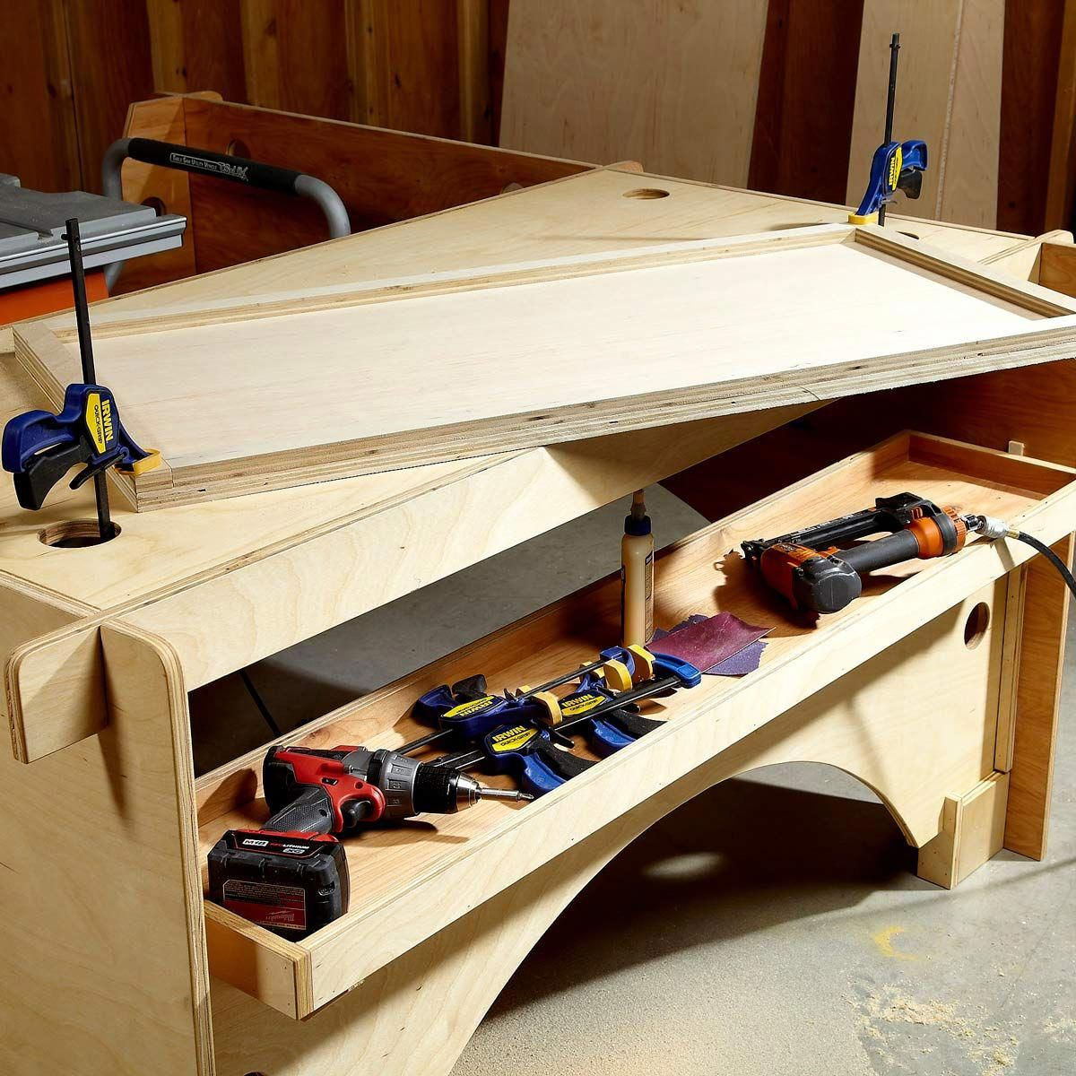DIY Table Saw Table The Family Handyman woodsaw Diy
