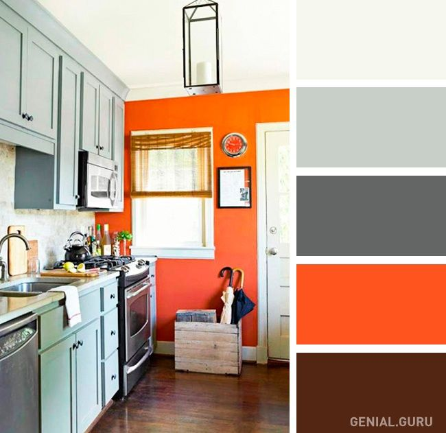 20 Perfectas Combinaciones De Colores Para Tu Cocina Colores Para Cocina Comedor Colores De Interiores Diseno De Cocina