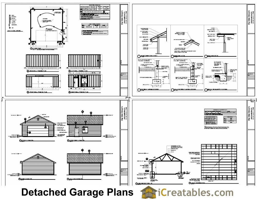 Garage plans car updated avant floorplans postgreen homes for Material list for garage