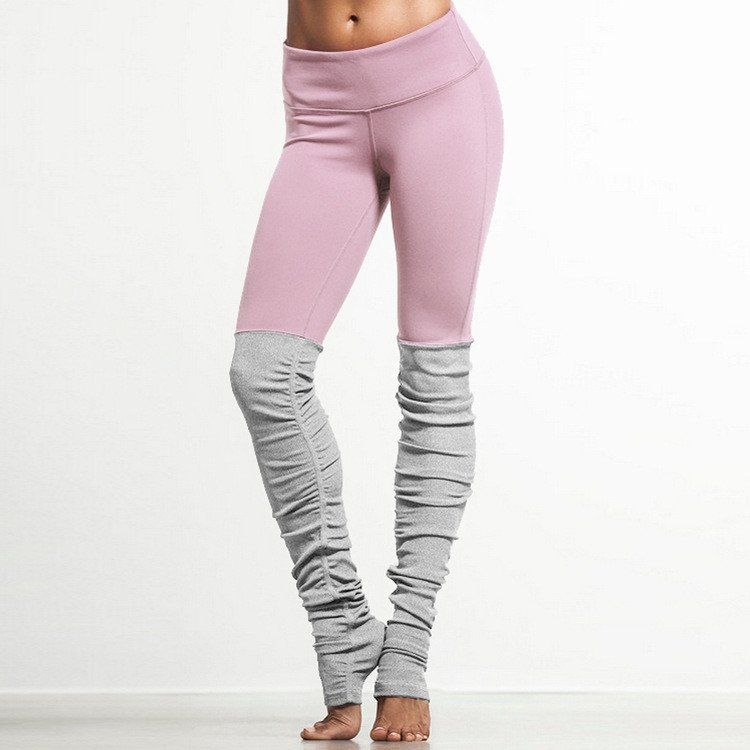 d005a61a62d3a Ribbed Yoga Leggings With Gray | Wish List | Pinterest | Yoga Pants ...