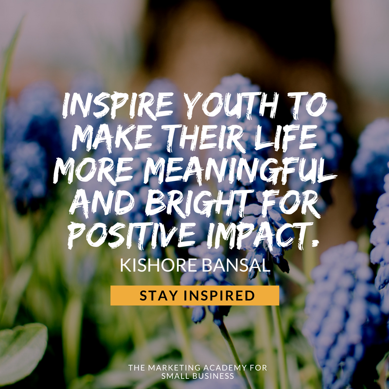 Youth Are The Future Of Our World And Should Be Motivated To Prepare For The Task Ahead Entrepreneur Quotes Business Entrepreneur Quotes Business Quotes