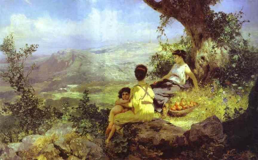 Rest - Henryk Hector Siemiradzki, 1896