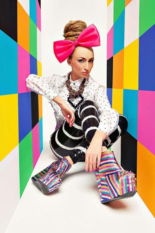 Moda Conceitual, Editoriais De Moda