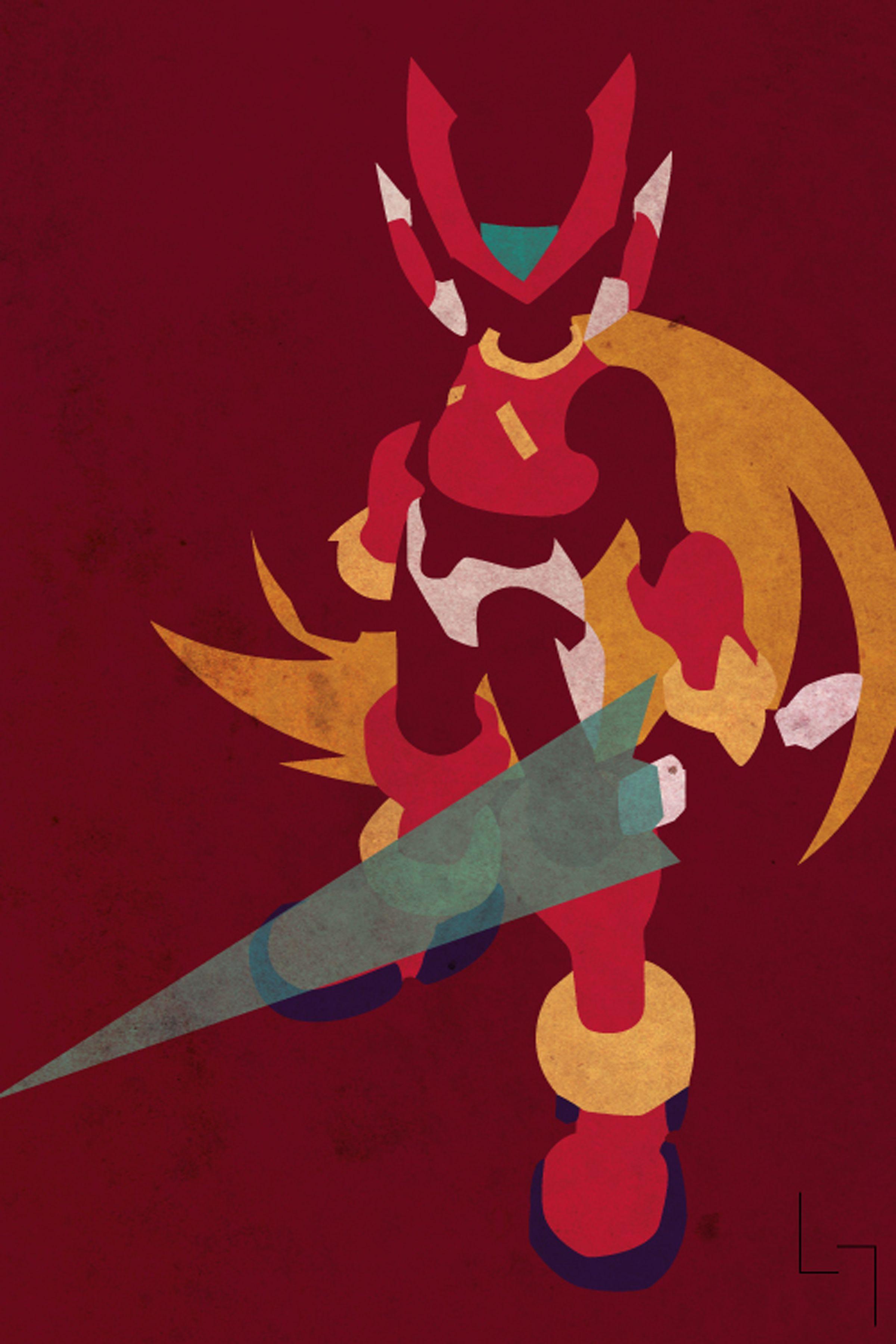 Zero Megaman Zero Mega Man Art Mega Man Megaman Zero