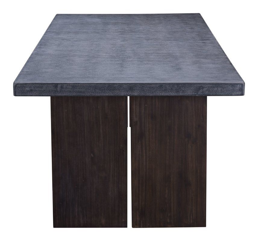 Barbury Stone Concrete Dining Table Concrete Dining Table