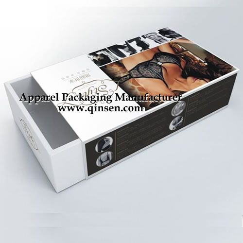 c4fab70657 Luxury Draw style bra box.Lingerie Gift Boxes. Oem are welcomed.  www.qinsen.com
