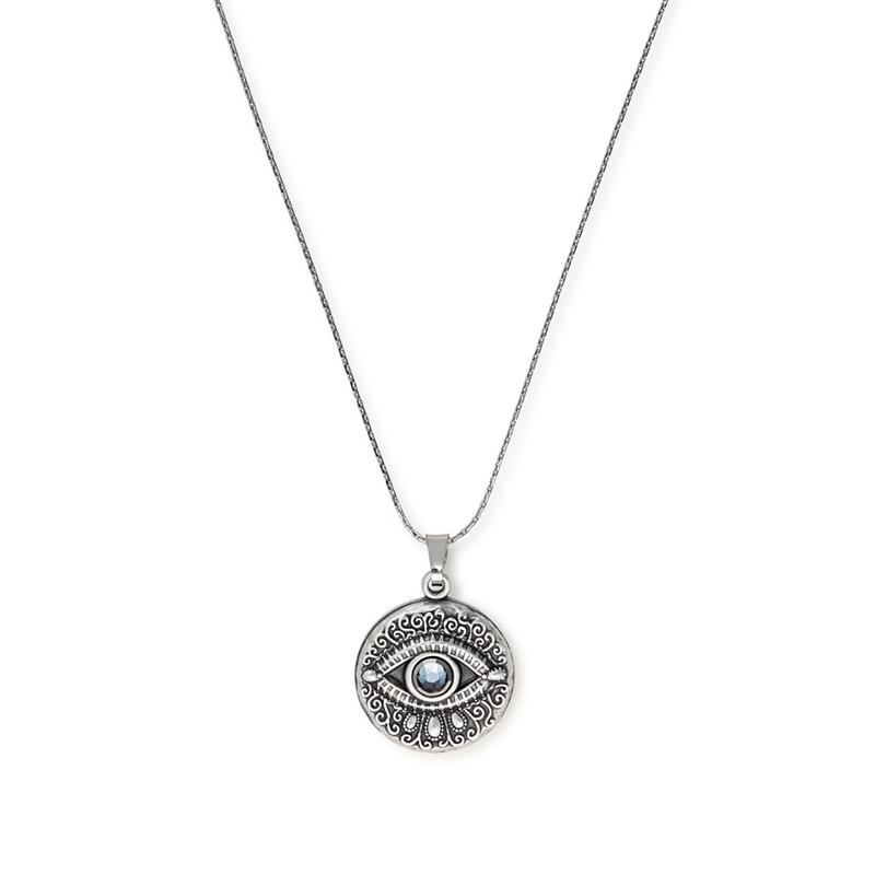 Evil Eye Expandable Necklace | Evil eye, Alex, ani ... Symbols Of Watchfulness