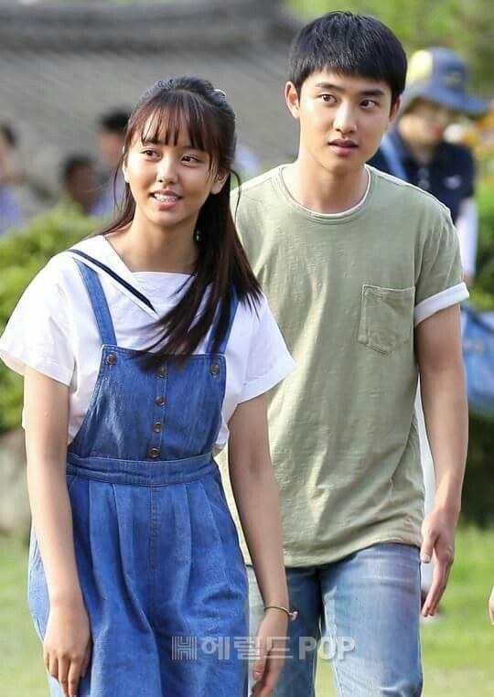 D O And Kim So Hyun Pure Love Movie Making Kyungsoo In 2019