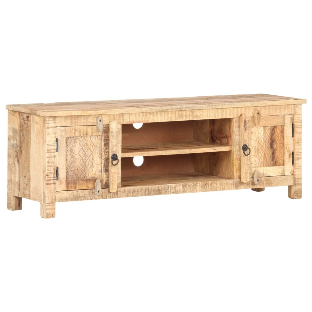 vidaXL TV Cabinet 120x30x40 cm Rough Man Wood …