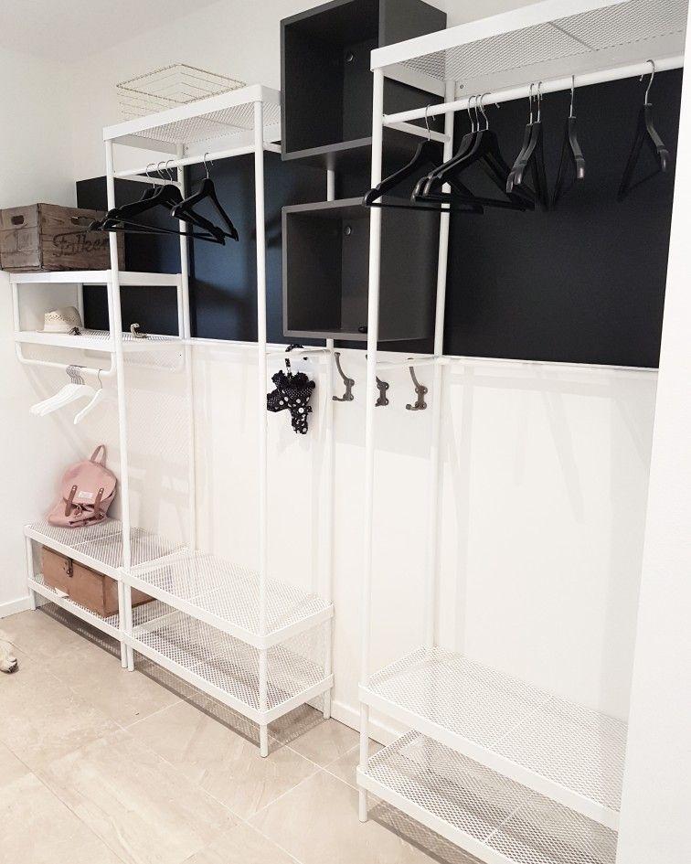 Ikea Mackapär förvaringssystem #entreindretning