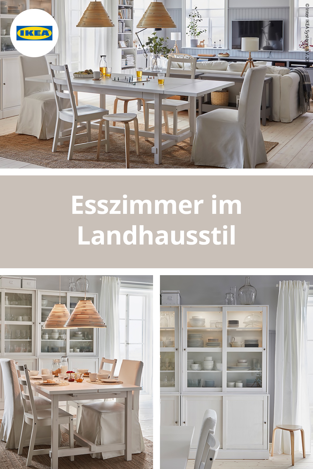 A bright dining room where dreams are shared IKEA Deutschland
