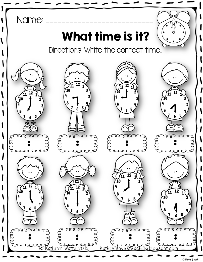 Workbooks time to hour and half hour worksheets : Time Worksheets | Teacher pay teachers, Math and Elapsed time