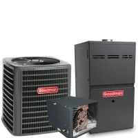 3 Ton Goodman 14 Seer R410a 96 Afue 100 000 Btu Horizontal Gas Furnace Split System Gas Heating Systems Heating Systems Gas Heating