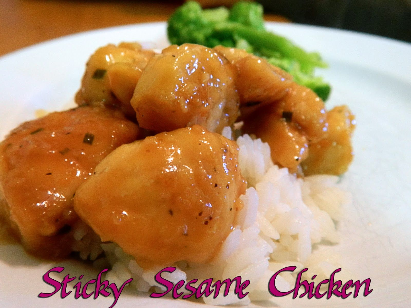 Eating bariatric sticky sesame chicken healthy light food forumfinder Choice Image