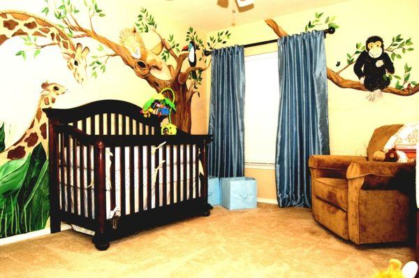 Niedliche Babyzimmer Wandgestaltung Inspirierende Wandgestaltung Ideen