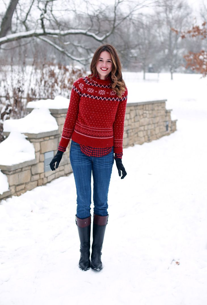 What I Wore | It's A Wonderful Life, Casual Christmas Outfit, Snow Day,  WhatIWore.tumblr.com #fashionblog - What I Wore BLOGGED What I Wore Pinterest Fashion, How To