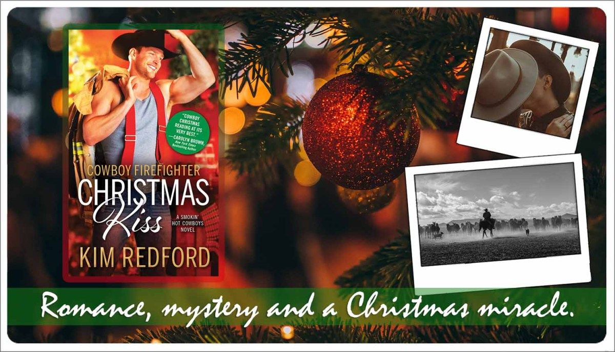 Book Review Cowboy Firefighter Christmas Kiss By Kim Redford