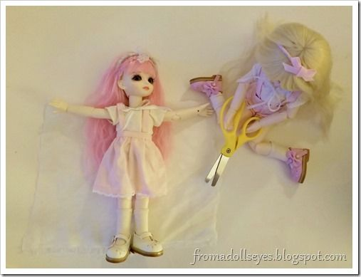 Crafting With Dolls Easy Last Minute Halloween Costumes For Bjds