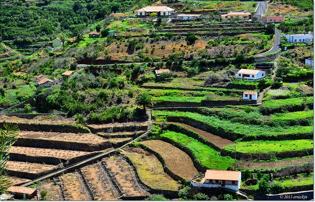 Terrazas De Cultivo Farming Terraces Canary Islands La Gomera Beautiful Islands