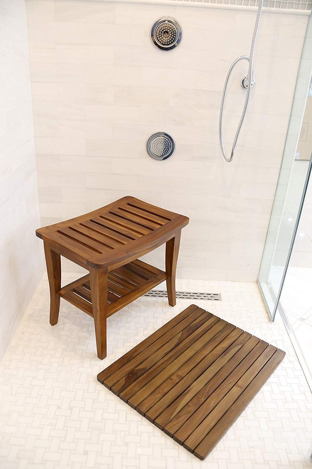 100 Best Teak Shower Benches 2020 Wood Shower Bench Teak