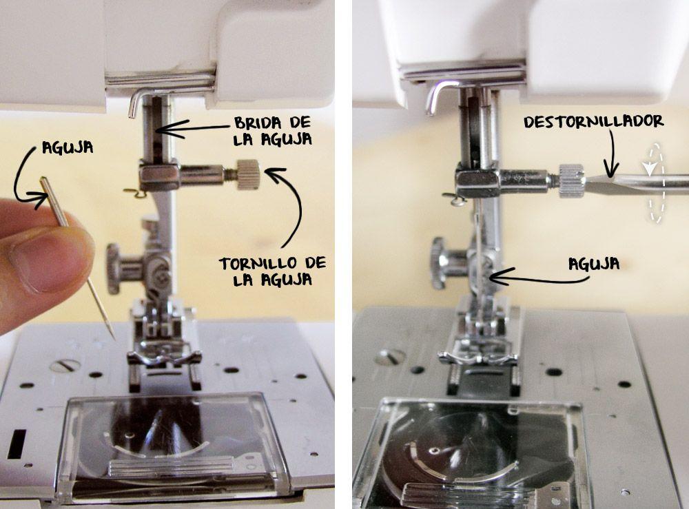 Cambiar la aguja de la máquina de coser | Maquina de coser