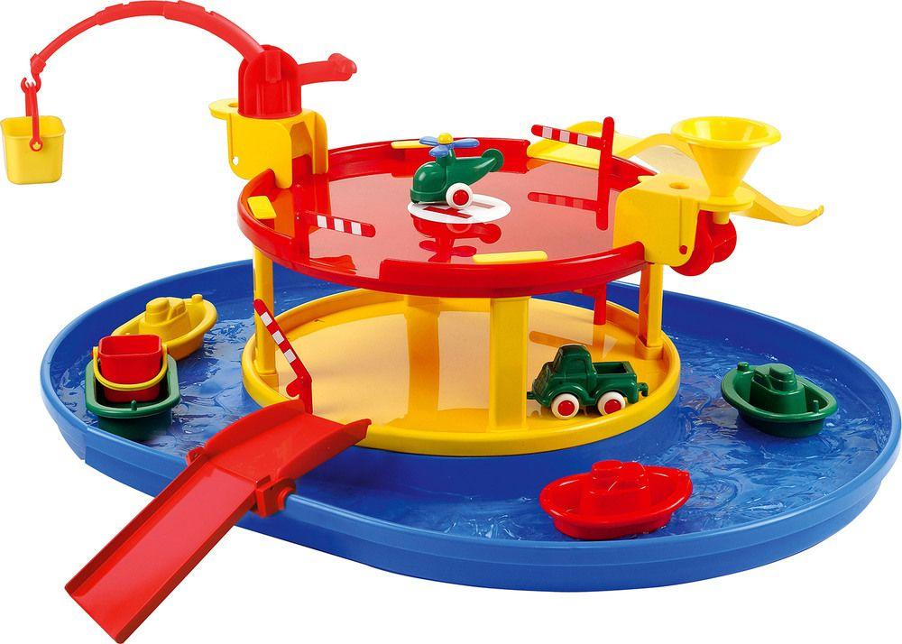 Spielstabil Garagen Mit Hafen Wasserspielzeug Jetzt Online