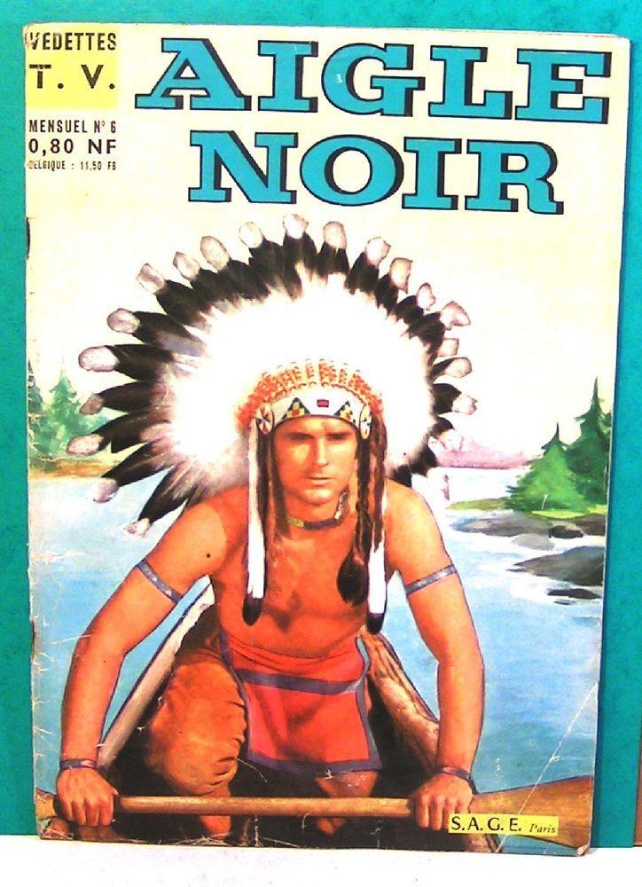 mensuel BD   aigle noir  n°6 - 1961 - éditions sage