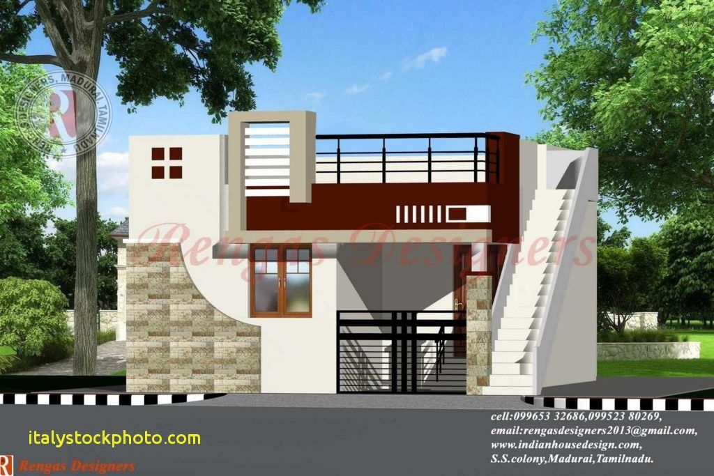 Front Elevation Designs For Single Floor Houses India