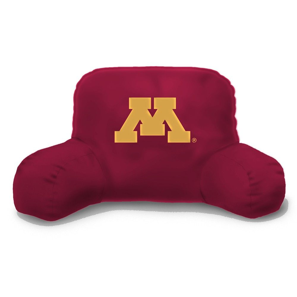 Minnesota Golden Gophers Bed Rest Back Support Pillow, a wonderful room accessory for watching TV, reading a book or cramming for the big exam.