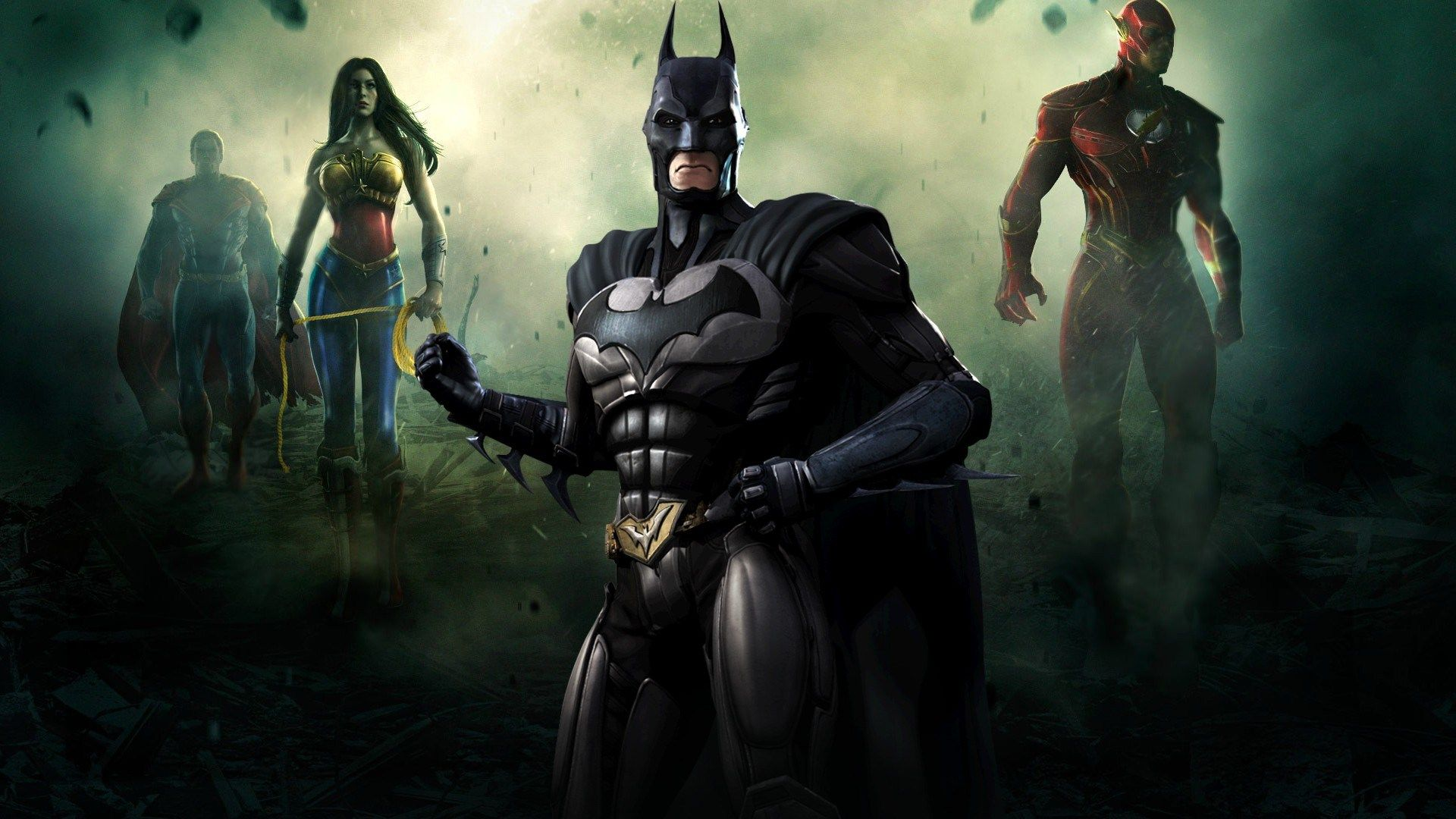 1920x1080 Px Best Injustice Gods Among Us Wallpaper By Fern Gill For Trunkweed Com Vilas Herois