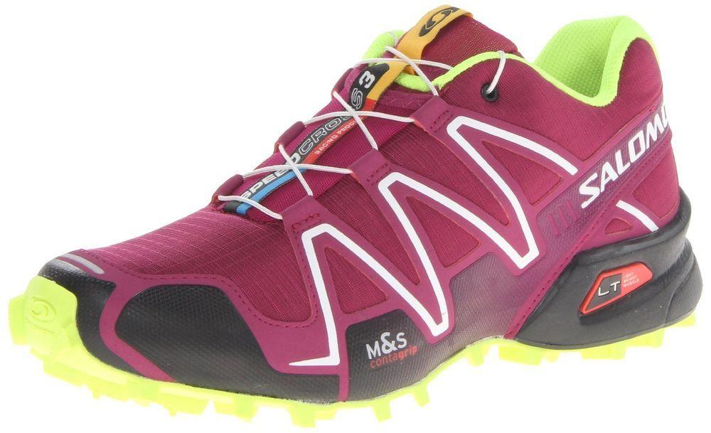 d09c11c7bae0 Salomon Women s Speedcross 3 w Trail Running Shoe Mystic Purple Black  Yellow
