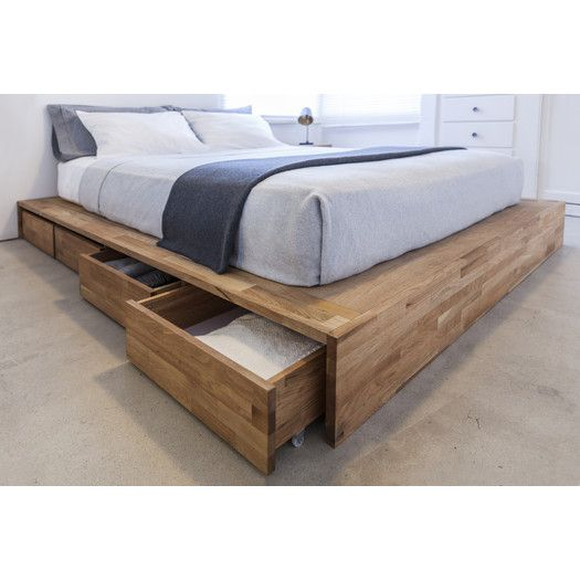 Mash Studios Lax Series Storage Platform Bed Diy Platform Bed Bed Storage Platform Bed With Storage