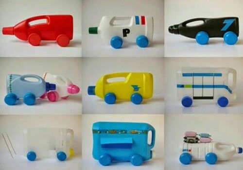 29 Contoh Daur Ulang Sampah Botol Bekas Menjadi Mainan Anak Anak