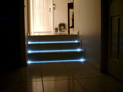Led Step Lighting Unique Step Lights  Crafts & Diy  Pinterest  Lights Staircases And Decking