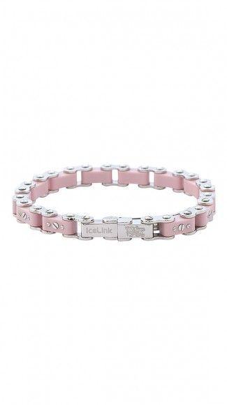 Pink Bicycle Bracelet